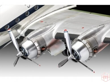 Revell - C-54D Thunderbirds Platinum Edition, Mastelis: 1/72, 03920 3