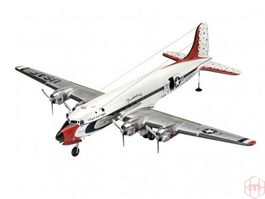 Revell - C-54D Thunderbirds Platinum Edition, Mastelis: 1/72, 03920