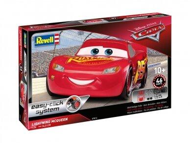 Revell - Lightning McQueen (easy-click), Mastelis: 1/24, 07813