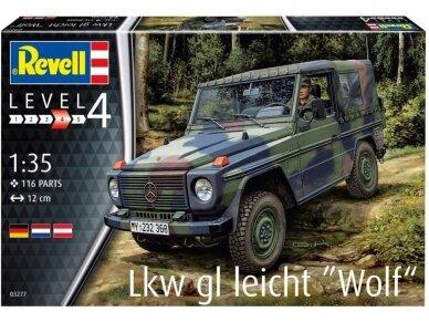 """Revell - Lkw gl leicht """"Wolf"""", Mastelis: 1/35, 03277"""