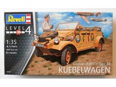 """Revell - German Staff Car Type 82 """"Kübelwagen"""", Scale: 1/35, 03253"""