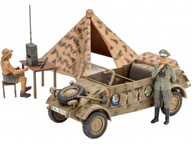 "Revell - German Staff Car Type 82 ""Kübelwagen"", Mastelis: 1/35, 03253 2"