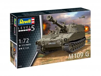 Revell - M109 G, Scale: 1/72, 03305