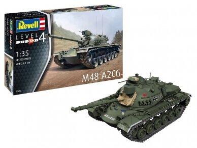 Revell - M48-A2 CG, Mastelis: 1/35, 03287