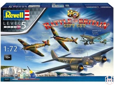 Revell - 80th Anniversary Battle of Britain Gift set, 1/72, 05691