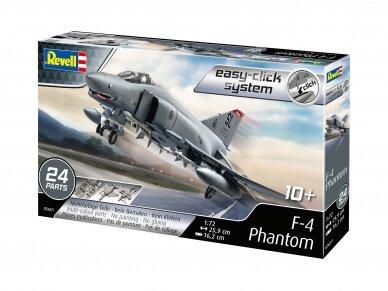 Revell - McDonnell F-4E Phantom II (easy-click), Mastelis: 1/72, 03651