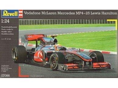 Revell - McLaren Mercedes MP4-25 L.Hamilton, Mastelis: 1/24, 07096