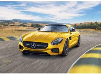 Revell - Mercedes AMG GT, Mastelis: 1/24, 07028 2