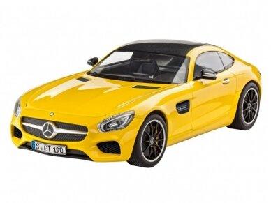 Revell - Mercedes AMG GT, Mastelis: 1/24, 07028 3