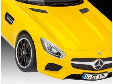 Revell - Mercedes AMG GT, Mastelis: 1/24, 07028 5