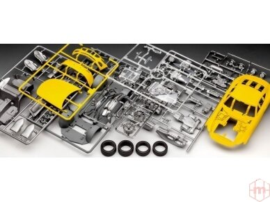 Revell - Mercedes AMG GT, Mastelis: 1/24, 07028 7