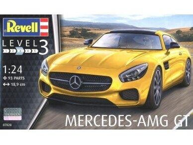 Revell - Mercedes AMG GT, Mastelis: 1/24, 07028
