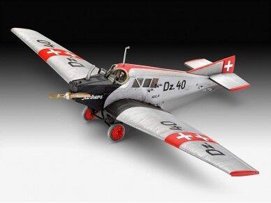 Revell - Junkers F.13 dovanų komplektas, Mastelis: 1/72, 63870 2