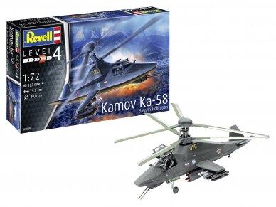 Revell - Kamov Ka-58 Stealth Helicopter, Mastelis: 1/72, 03889 3