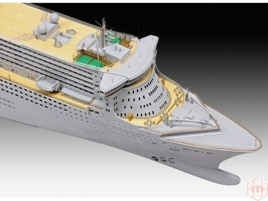 Revell - Ocean Liner Queen Mary 2, Scale: 1/400, 05199 3