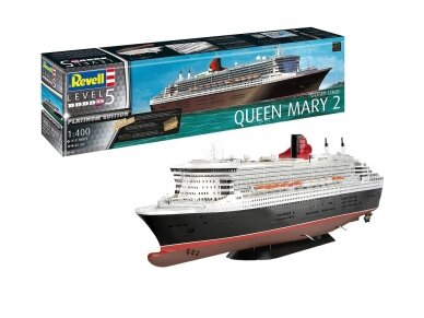 Revell - Ocean Liner Queen Mary 2, Scale: 1/400, 05199