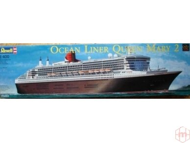 Revell - Ocean Liner Queen Mary 2, Mastelis: 1/400, 05199