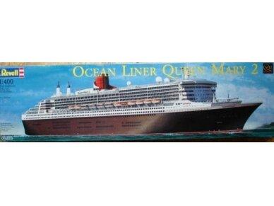 Revell - Ocean Liner Queen Mary 2, Mastelis: 1/400, 05199 2