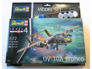 Revell - OV-10A Bronco dovanų komplektas, Mastelis: 1/72, 63909 2