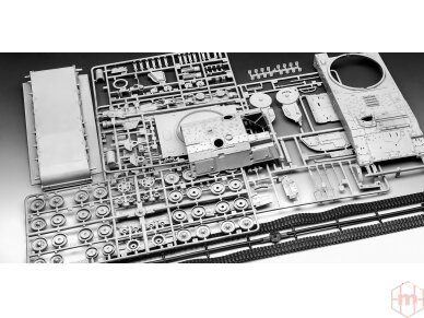 Revell - Panzerhaubitze 2000, Mastelis: 1/35, 03279 4