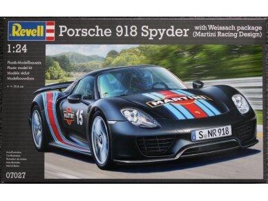 """Revell - Porsche 918 """"Weissach Sport"""", Mastelis: 1/24, 07027"""