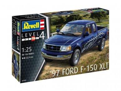 Revell - '97 Ford F-150 XLT, Mastelis: 1/24, 07045