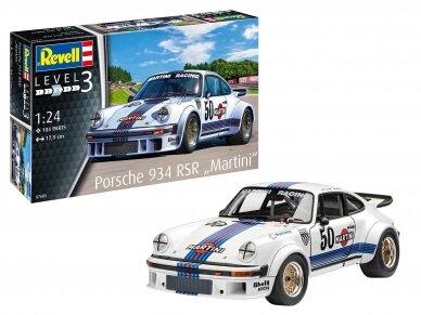 """Revell - Porsche 934 RSR """"Martini"""", Scale: 1/24, 07685"""