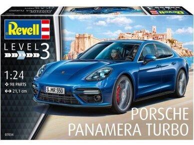 Revell - Porsche Panamera Turbo, Scale: 1/24, 07034