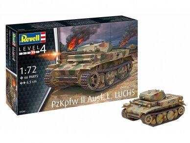 Revell - PzKpfw II Ausf.L LUCHS (Sd.Kfz.123), 1/72, 03266