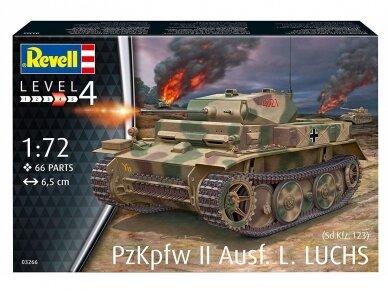 Revell - PzKpfw II Ausf.L LUCHS (Sd.Kfz.123), 1/72, 03266 2