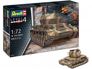 Revell - Flakpanzer IV Wirbelwind (2 cm Flak 38), Scale: 1/72, 03267