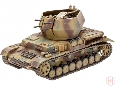 Revell - Flakpanzer IV Wirbelwind (2 cm Flak 38), Scale: 1/72, 03267 3