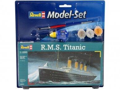Revell - R.M.S. Titanic Gift set, 1/1200, 65804