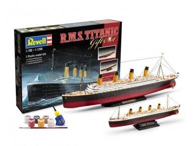 Revell - R.M.S. Titanic dovanų komplektas, Mastelis: 1/1200 ir 1/700, 05727
