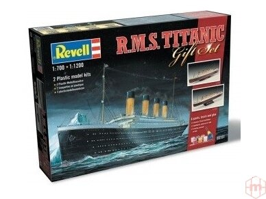 Revell - R.M.S. Titanic Gift set, 1/1200 and 1/700, 05727 2