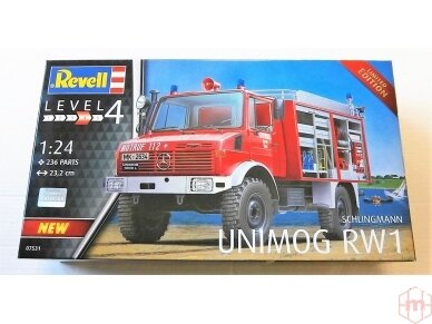 Revell - Schlingmann Unimog RW1, Mastelis: 1/24, 07531