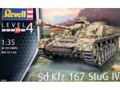 "Revell - Sd.Kfz. 167 ""StuG IV"", Mastelis: 1/35, 03255"