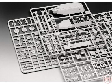 Revell - Sd.Kfz. 251/1 Ausf. C + Wurfr. 4, Mastelis: 1/72, 03324 4