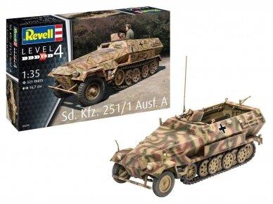 Revell - Sd.Kfz. 251/1 Ausf.A, Mastelis: 1/35, 03295