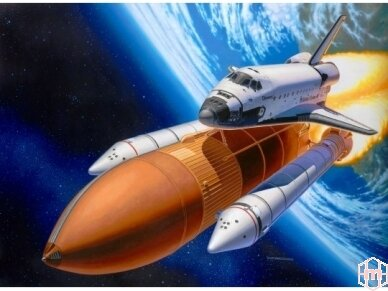 Revell - Space Shuttle Discovery & Booster, Mastelis: 1/144, 04736 2