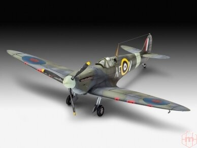 Revell - Spitfire Mk.IIa dovanų komplektas, Mastelis: 1/72, 63953 3