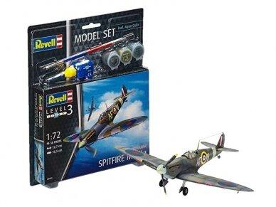 Revell - Spitfire Mk.IIa dovanų komplektas, Mastelis: 1/72, 63953
