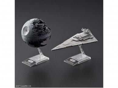 Revell - Star Wars Death Star II (1/2700000) & Star Destroyer (1/14500), 01207 2