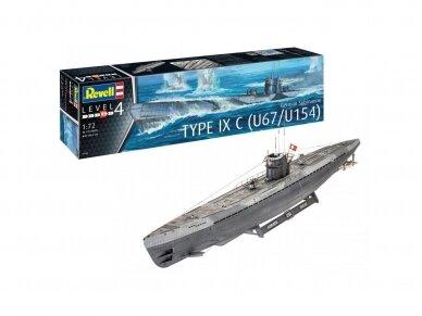 Revell - Submarine Type IXC Early Turret, Mastelis: 1/72, 05166