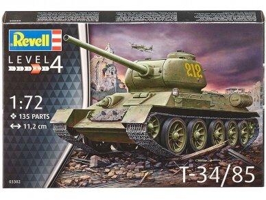 Revell - T-34/85, 1/72, 03302 2
