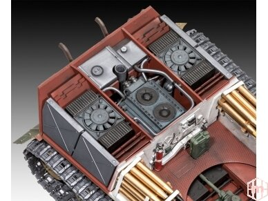 Revell - TIGER II Ausf. B - Full Interior (Platinum Edition), Mastelis: 1/35, 03275 4