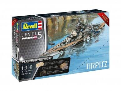 Revell - TIRPITZ (Platinum Edition), Mastelis: 1/350, 05160