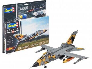 Revell - Tornado ECR Tigermeet 2018 dovanų komplektas, Mastelis: 1/72, 63880