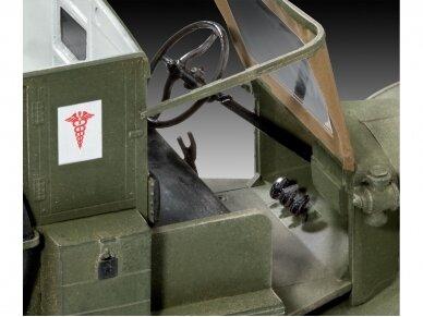 Revell - Model T 1917 Ambulance, 1/35, 03285 4