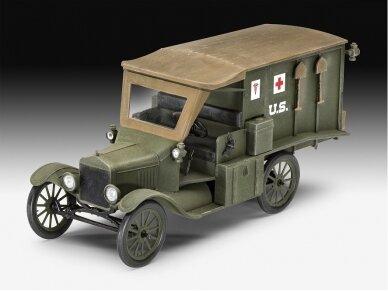 Revell - Model T 1917 Ambulance, 1/35, 03285 2